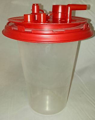 Baxter 1500mL Medi-Vac CRD Inner ThinWall Suction Canister Liner w/Lids Lot of 5