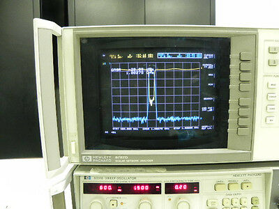 HP Agilent 8757D NETWORK ANALYZER