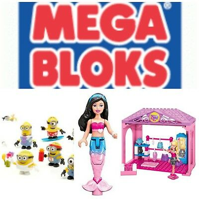 Mega Bloks Figures & Sets Many Items-- U Choose! Barbie Spongebob Squarepants