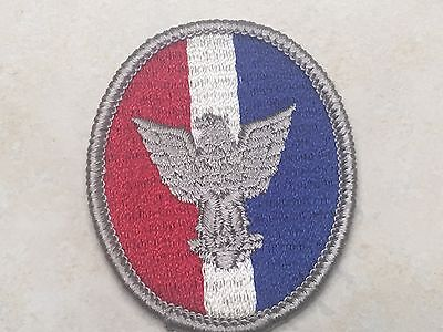 Eagle Scout Rank Patch - Type 4B Plastic Back 1972-1975
