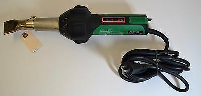 Leister Triac ST 141.288 Hand Held Plastic Welder w/ 40mm Nozzle Used