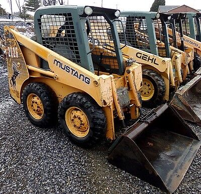 Mustang 2026 Skid Steer Loader. 35Hp Yanmar Engine. 1700 Hrs. Good Shape!