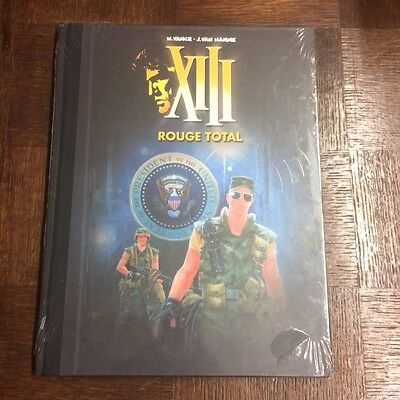 Xiii Tome 5  Rouge Total Edition Speciale Figaro - Vance Van Hamme