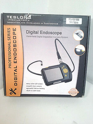 "TD0378 2.7"" Color LCD Borescope 3m Inspection Snake Camera 8.2mm [MR108-DBP3]"