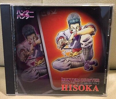 HUNTER X HUNTER Character In CD HISOKA Series Soundtrack Japanese  Vol.3