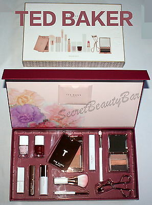 TED BAKER Treasure Trove 12pc Make Up Gift Set NEW in Large Gift Box