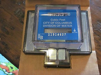 New (Os) Badger Remote Meter Reading Water Read-O-Matic Cubic Feet 1 Zero