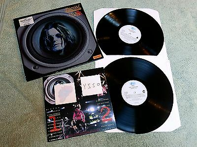 OZZY OSBOURNE live & loud EPIC 2LPs + Booklet & Tattoos 473789 1!