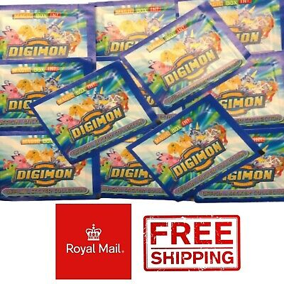 80 Packs Digimon Sticker Collection Magic Box International NEW Unopened