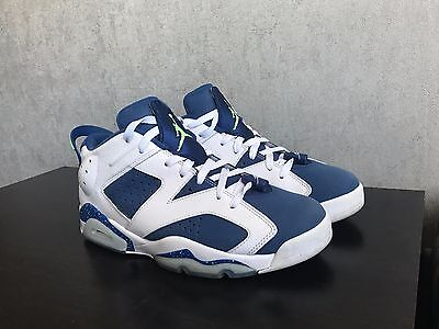Air Jordan 6 Retro Low Seahawks Taille 43 Size 9.5