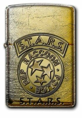 BIOHAZARD 20th Anniversary Zippo S.T.A.R.S. model From Japan NEW Resident Evil
