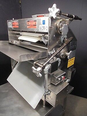 Pizza Dough Roller / Sheeter Acme MRS II with s.s. cart