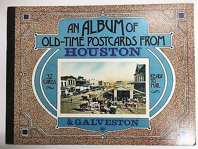 An Album of Old-Time Postcards From Houston & Galveston Texas 31 Cards Mail TX