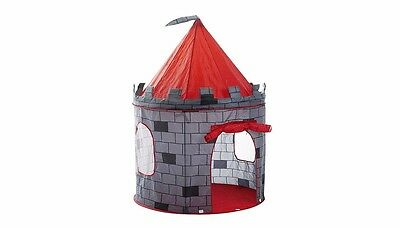 Children Play Pop Up Castle Tent for Indoor/Outdoor Use Foldable with Carry Case