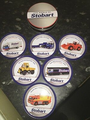 "ATLAS EDITIONS - The World Of Stobart x 6 In A Tin.Brand New.""VERY RARE"""