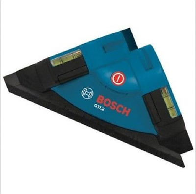 Bosch GTL2 Laser Square Accuracy Vertical & Horizontal Level Chalk Layout Floor
