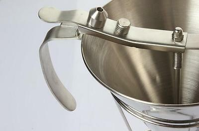 Stainless Steel Chocolate Funnel 1.5 Liter