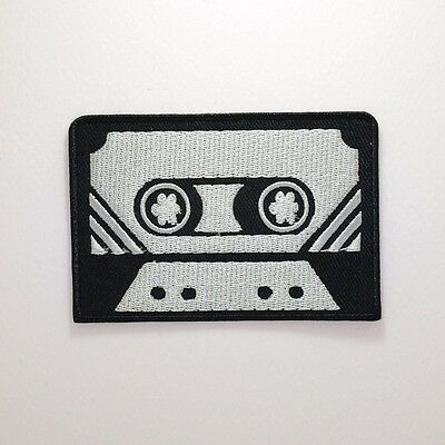 Cassette Patch - Iron On Badge Embroidered Motif - Tape Retro Old School #280