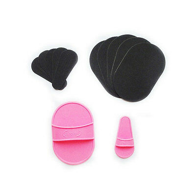 Trendy Smooth Legs Hair Removal Sheer Painless Face Arm Skin Exfoliator Pads Set