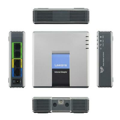 Linksys SPA2102 VoIP Phone Adapter with router SIP VOIP Gateway 2 Ports FXS