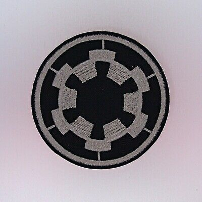 Imperial Forces COG Patch - Iron On Badge Embroidered Motif - Star Wars IF #175