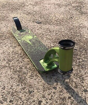 NEW Madd Gear MGP VX3 Nitro scooter deck - Green (Free Shipping)