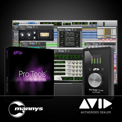 Avid Apogee Duet w/ Pro Tools 1-Year Subscription (inc. Activation Card & iLok)