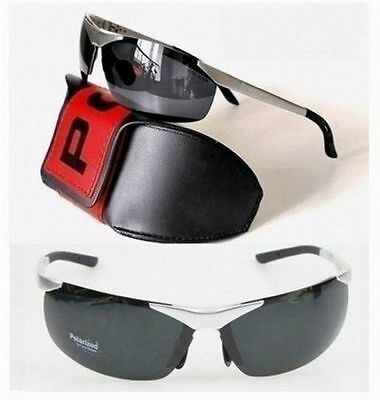 Polarized UV Police Driving Wearing Sunglasses For Men Women Unisex - 3 Color