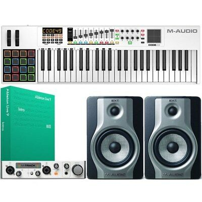 M-Audio Studio Bundle w/ Monitors, Keyboard, Interface, Ableton Intro & Software