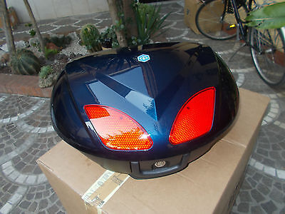 Kit Bauletto  48 Litri Piaggio Beverly Tourer 125-250-300-400-500 Blu Midnight