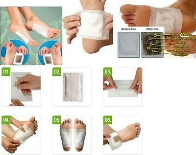 Hot Herbal Detox Foot Patches Pads 10 Detoxification Cleansing Patches 10 Gift