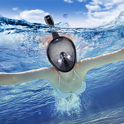 Seaview 180° Snorkel Mask Panoramic Full Face Design Dry snorkel technology New