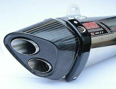 Suzuki GSR750 2012 R&G Racing Exhaust Protector / Can Cover EP0010BK Black