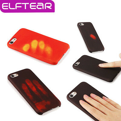 New Heat Induction Thermal Gel Mobile Phone Case Cover For iPhone 5/S 6 7 + 8 X