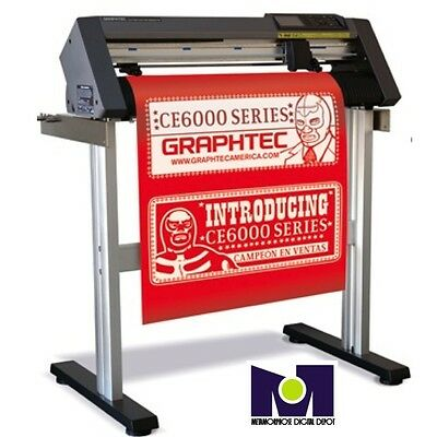 "Cutting Plotter CE6000-60 Graphtec 24"" THE BEST PRICE IN THE MARKET OFFER US"