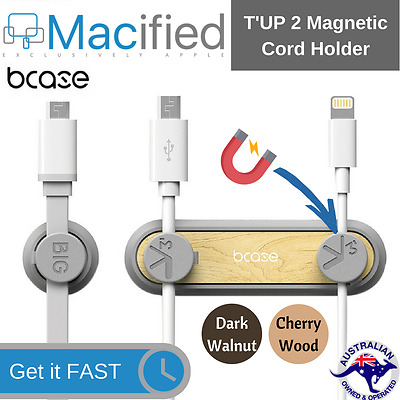 Bcase T'UP Magnetic Desktop Tidy Clips Cord Cable Organiser Organizer Holder