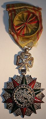 DECORATION Militaire Tunisie Nichan Iftikhar en grade d'Officier (A440)