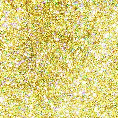 "2 lb / 907g  Gold Jewels Holographic Metal Flake .008"" Paint Additive LF2732"