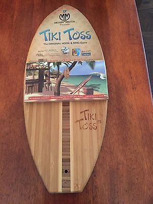 Tiki Toss The Original Hook & Ring Game SURF EDITION - NEW - Classic - Free Ship