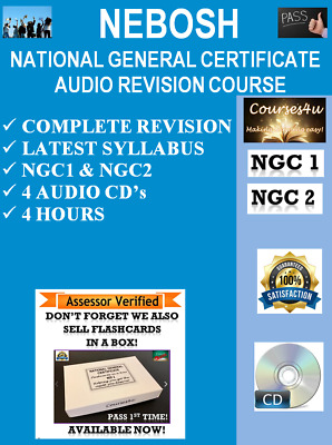 NEBOSH National General Certificate Audio Revision CD's *LISTEN, LEARN, REVISE*