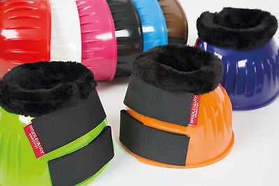 Bridleway Fleece Trimmed Over Reach Boots - Protect your Horse