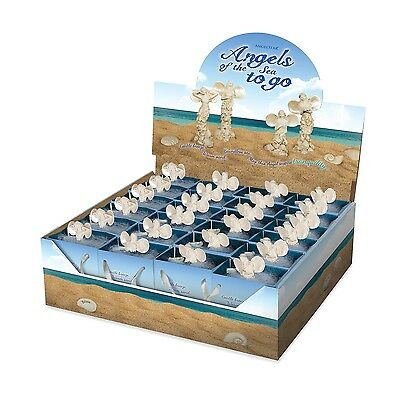 AngelStar Angels of Sea To Go Display 24 Angels & Blue Gift Bags