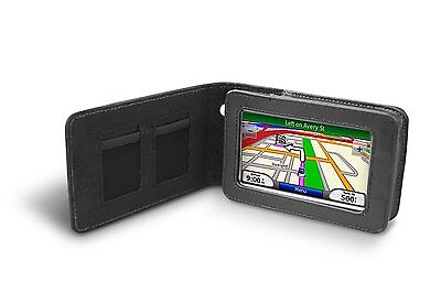"Garmin OEM NUVI Leather Carrying Case for 4.3"" Series 200W 400 700 800"