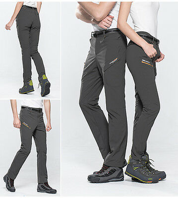 Men Elastic Waterproof Breathable Hiking Quick-drying Camping Outdoor Pants 1616
