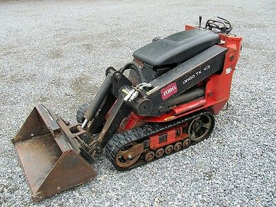 Toro Dingo Tx413 Mini Skid Steer Track Loader. Honda Engine. Runs Great.
