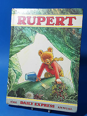 Rupert The Bear Annual  1971 Hard Cover Very Good Condition