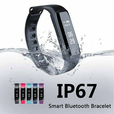 Waterproof Smart Sport Watch Bracelet Fitness Tracker Heart Rate Blood Pressure