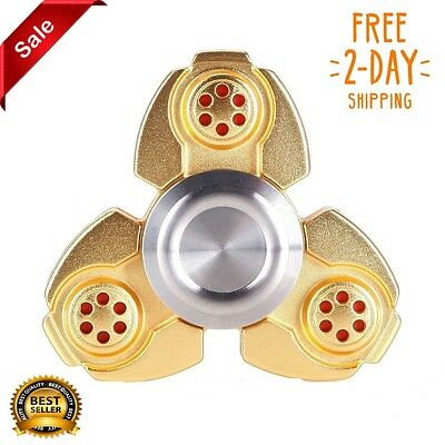 Tri Figet Finger Hand Spinner EDC Focus Metal Gyro Autism ADHD Adult Kids Toys