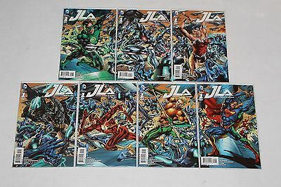 JLA Connecting Variant Covers DC Justice League Complete Set Lot