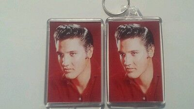 Elvis  presley Jumbo keyring  and large  elvis  fridge magnet